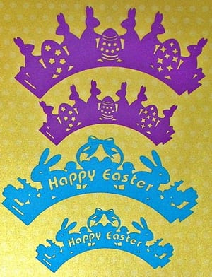More Easter Cupcake Wrappers