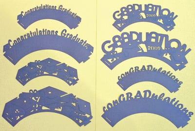 Graduation Cupcake Wrappers