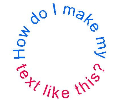 putting text on a circle digital die cutting with sandy mccauley