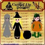 Halloween QTs - Paper Dolls