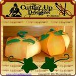 Paper Ball Pumpkins