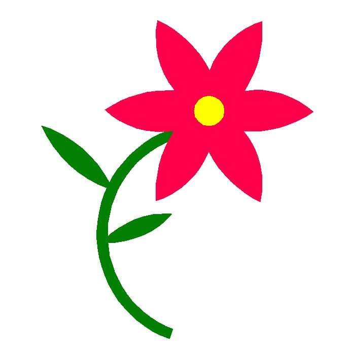 Using Basic Shapes to Create Flowers - Video 7