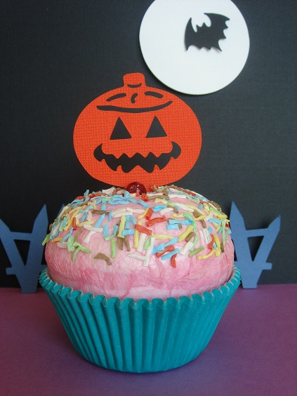 Cupcake Accent - Pumpkin by Stellar Stationery