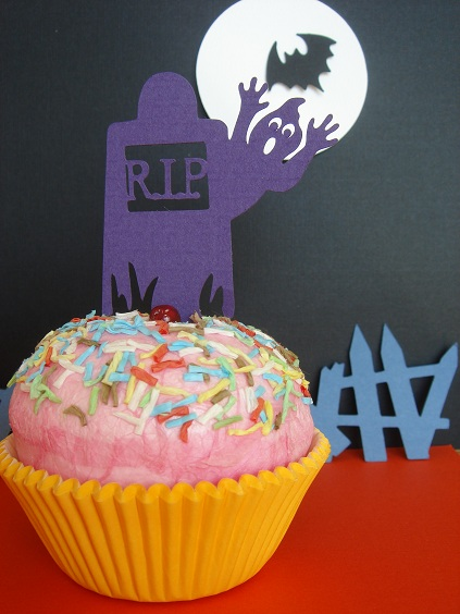 Cupcake Accent - RIP Ghost by Stellar Stationery