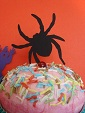 Cupcake Accent - Spider by Stellar Stationery